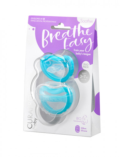Soother blue 3-7 kg Duo